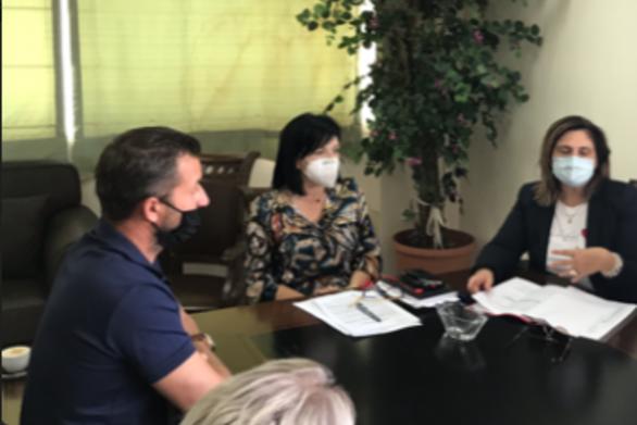 Συνάντηση της Αντιπεριφερειάρχη ΠΕ Αιτωλοακαρνανίας Μαρίας Σαλμά με τον Σύλλογο Βενζινοπωλών
