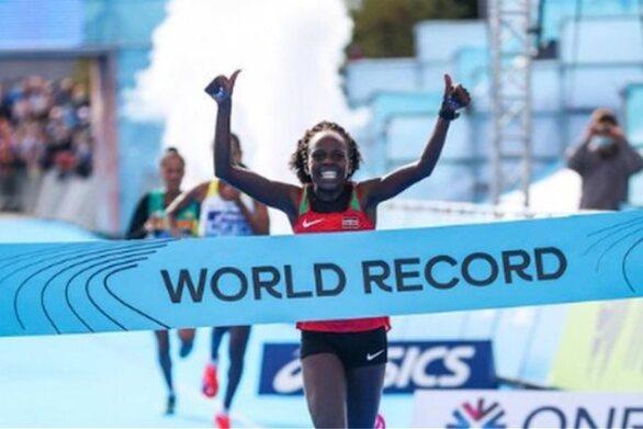 Στίβος: Παγκόσμιο ρεκόρ από την Πέρες Τζεπτσιρτσίρ στον ημιμαραθώνιο γυναικών