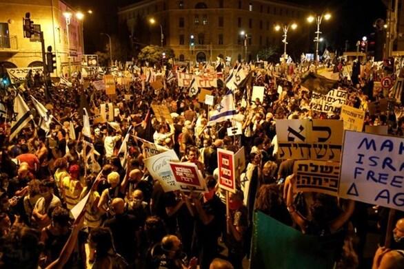 Μαζικές διαδηλώσεις στο Ισραήλ