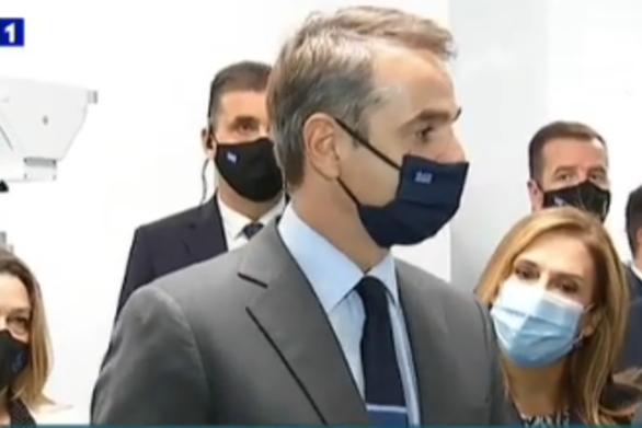 """Μητσοτάκης από το νοσοκομείο """"Σωτηρία"""": """"Οι επόμενοι μήνες θα είναι κρίσιμοι"""" (video)"""