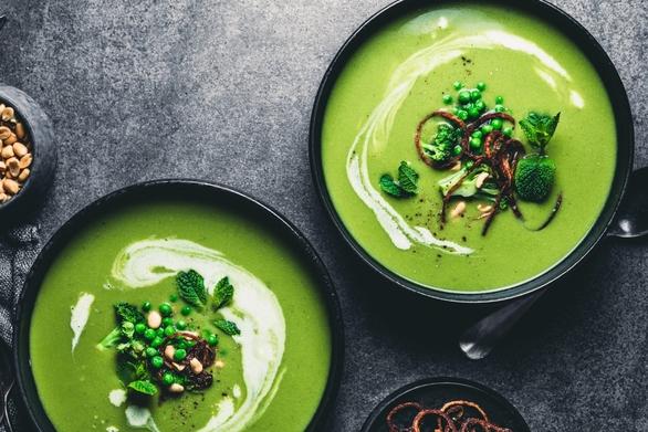 Συνταγή για σούπα με αρακά