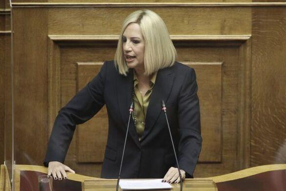 """Γεννηματά: """"Ενωμένοι οι Έλληνες μπορούμε να κάνουμε τα αδύνατα, δυνατά"""""""