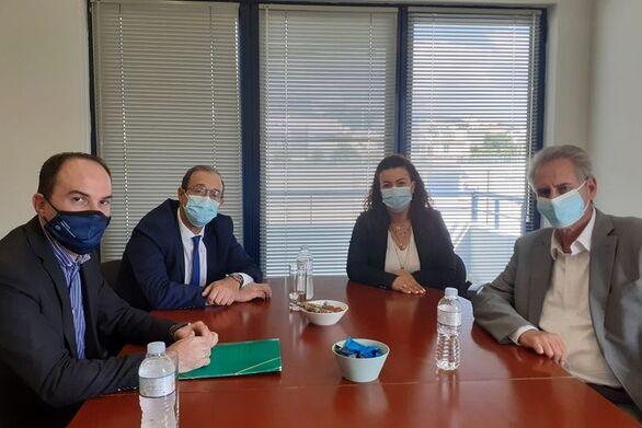 Δυτ. Ελλάδα: Συνάντηση Λ. Λαμπρόγιαννη με εκπροσώπους του Πανελλήνιου Συνδέσμου Επιχειρήσεων Προστασίας Περιβάλλοντος