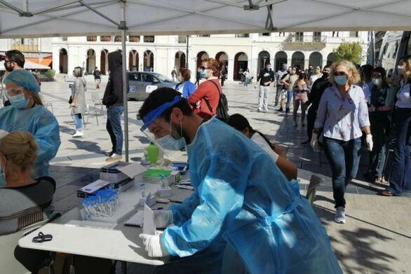 ΕΟΔΥ: Ένας 19χρονος θετικός στον κορωνοϊό στα rapid test της Πάτρας!