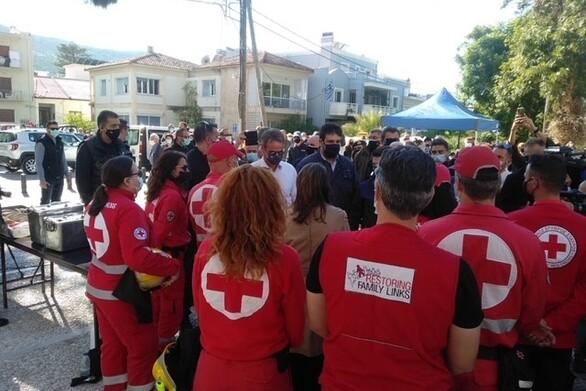 Ο Ελληνικός Ερυθρός Σταυρός στη Σάμο
