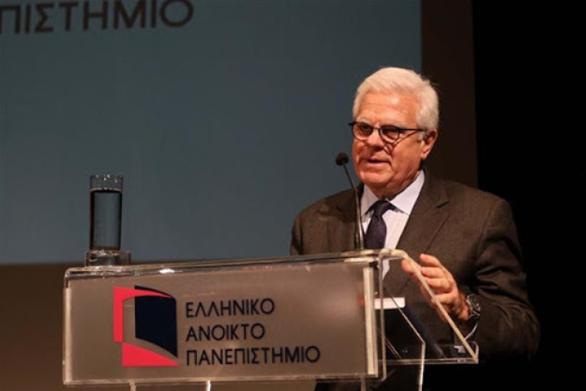 Ο Πρόεδρος της Δ.Ε. του Ελληνικού Ανοικτού Πανεπιστημίου Οδυσσέας - Ιωάννης Ζώρας για την επίθεση εναντίον του Πρύτανη ΟΠΑ