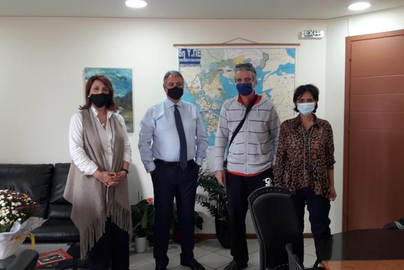 Μέλη του Συλλόγου Δασκάλων και Νηπιαγωγών Πάτρας συναντήθηκαν με τον Διοικητή της 6ης Υγειονομικής Περιφέρειας