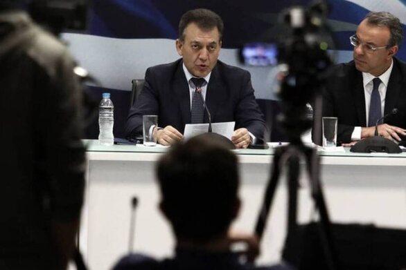 Δείτε live: Ανακοινώσεις Βρούτση - Σταϊκούρα για τα μέτρα στήριξης