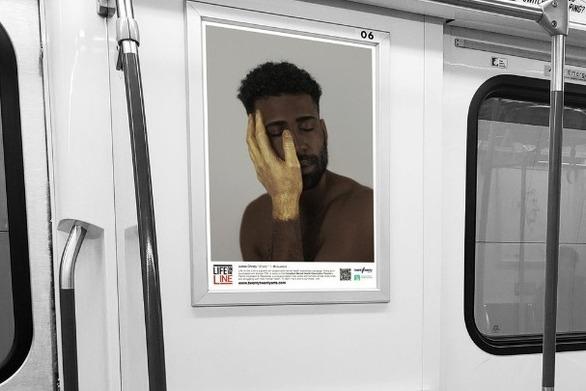 Αφίσες ευαισθητοποίησης για την ψυχική υγεία στο μετρό του Τορόντο