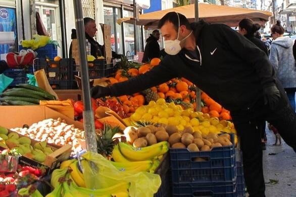 Κάτω Αχαΐα: Μέτρα προστασίας στη Λαϊκή Αγορά