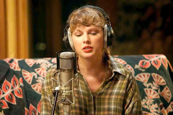 «Folklore: The Long Pond Studio Sessions» - Διαθέσιμο το νέο ντοκιμαντέρ της Τέιλορ Σουίφτ (video)