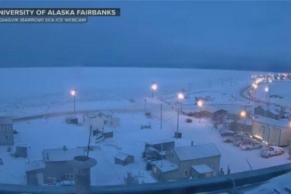 Αλάσκα: Δεν θα ξαναδούν τον ήλιο για δύο μήνες οι κάτοικοι της μικρής πόλης Ούτκιαγκβικ
