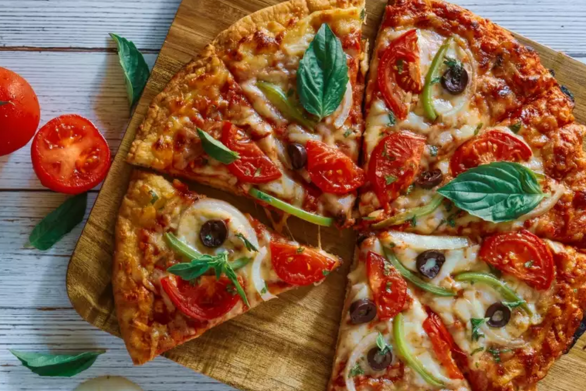 Συνταγή για πίτσα λαχανικών
