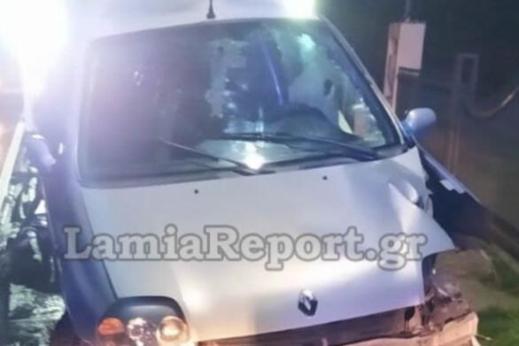 Λαμία: Ανήλικοι έκλεψαν αυτοκίνητο και τράκαραν