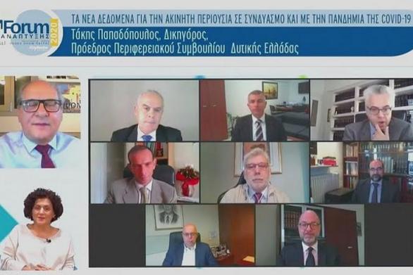 """Τάκης Παπαδόπουλος: """"Να δοθούν κίνητρα για την ανάπτυξη της αγοράς ακινήτων"""""""