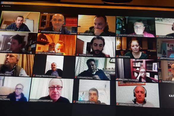 Ν.Ε. ΚΙΝΑΛ Αχαΐας: Τηλεδιάσκεψη για τις εξελίξεις στη χώρα από την πανδημία