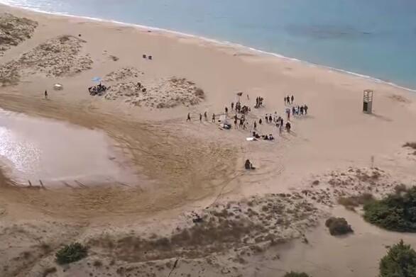 Τι διευκρινίζει ο δήμος Ελαφονήσου για τα γυρίσματα του GNTM