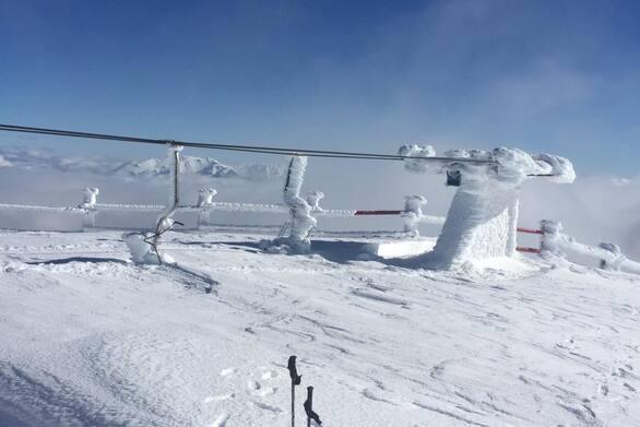 """Ο χειμώνας είναι εδώ - Το """"έστρωσε"""" για τα καλά στον Χελμό! (φωτο)"""