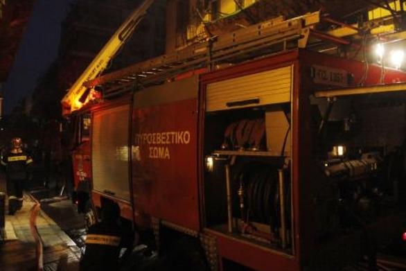 Πάτρα: Ξέσπασε φωτιά σε σπίτι στην οδό Σαβαλίων