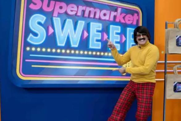 Supermarket Sweep - Πρεμιέρα για τον Τόνι Σφήνο το Σάββατο 26 Δεκεμβρίου