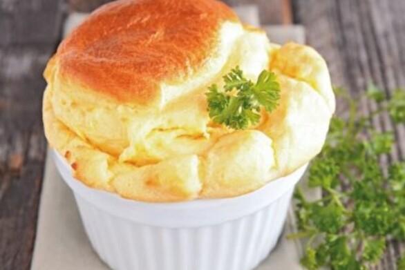Μαγειρέψτε αφράτο σουφλέ τυριού