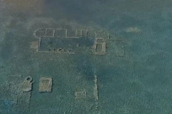 Η αρχαία βυθισμένη πολιτεία της Επιδαύρου από ψηλά (video)