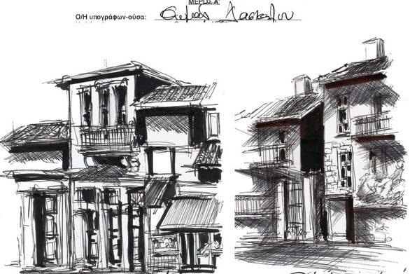 """Τρίκαλα: Αρχιτέκτονας μετέτρεψε τις """"βεβαιώσεις μετακίνησης"""" σε έργα τέχνης"""