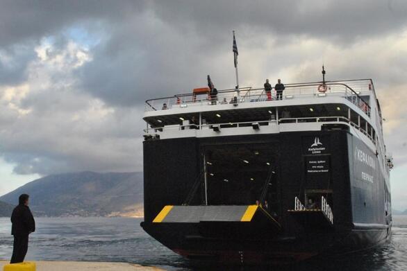 Λιμάνι: Διακόπτεται για λίγες εβδομάδες η γραμμή Πάτρα - Σάμη - Ιθάκη