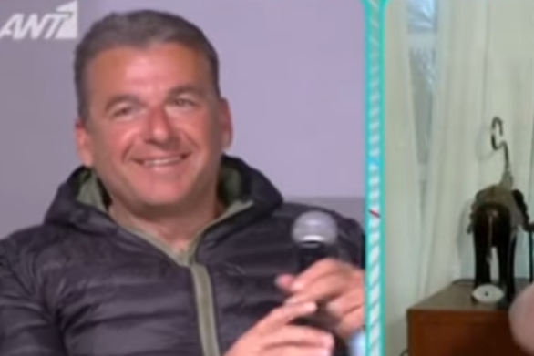 Ο Γιώργος Λιάγκας έκανε την πρώτη παρέμβαση στο Πρωινό (video)