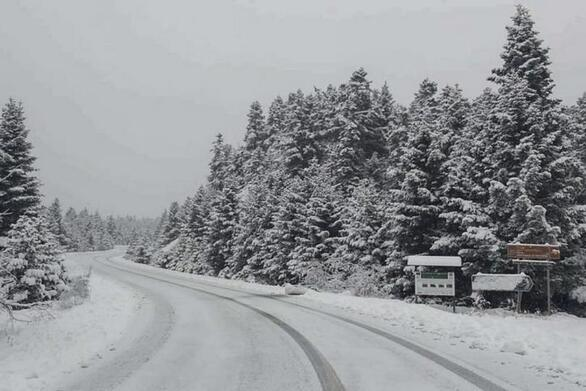 Κακοκαιρία Λέανδρος: «Άγγιξε» τους -18 βαθμούς Κελσίου η θερμοκρασία στη Βόρεια Ελλάδα