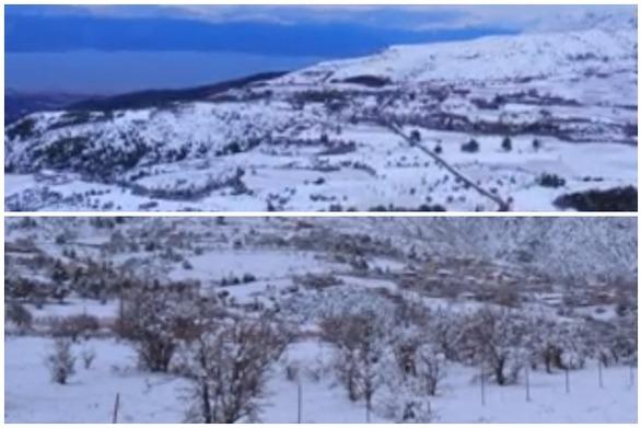 Αχαΐα - Το χιονισμένο Πυργάκι, το ορεινό αεροδρόμιο της Αιγιάλειας (video)