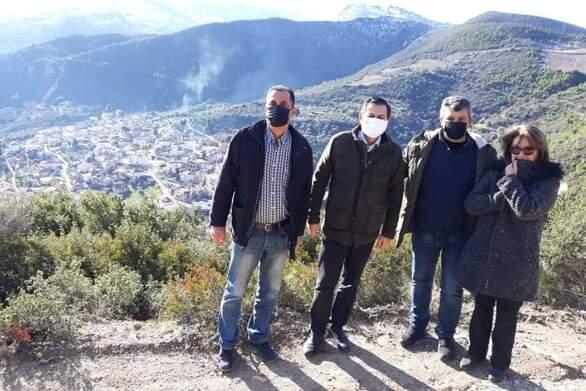Στο Τμήμα Αγροτικής Οικονομίας Ακράτας ο Αντιπεριφερειάρχης Θ. Βασιλόπουλος