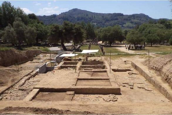 Δυτική Ελλάδα: Ανάδειξη και αναστύλωση του γυμνασίου Αρχαίας Ολυμπίας