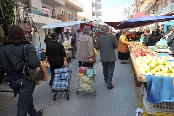 Αίγιο: Αλλαγή ημέρας λειτουργίας της Λαϊκής Αγοράς