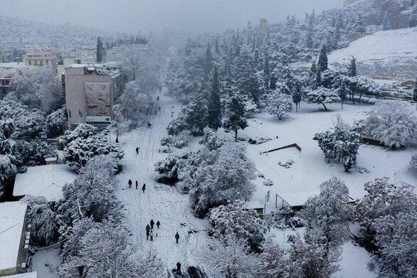 """Κλέαρχος Μαρουσάκης: """"Πιθανός νέος χιονιάς τύπου «Μήδεια» τις πρώτες 15 ημέρες του Μαρτίου"""""""