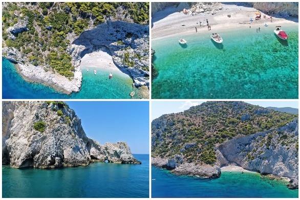 "X-Beach: Η παραλία με το μυστηριώδες όνομα που μοιάζει να ""απέδρασε"" από το Ιόνιο, κοντά στην Αθήνα (video)"