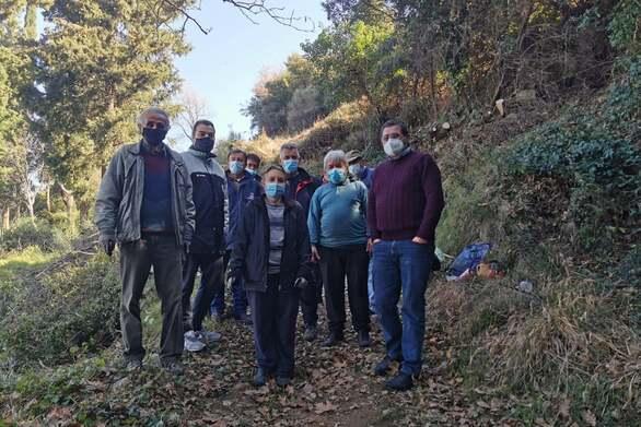Άνω Καστρίτσι: Άρχισαν οι εργασίες καθαρισμού και διάνοιξης για την δημιουργία αντιπυρικής ζώνης στο ανατολικό μέρος του χωριού