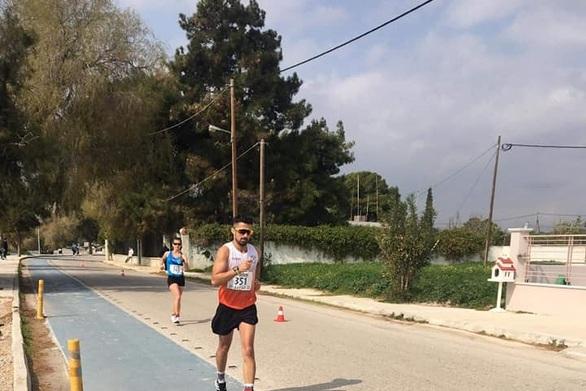 Κωνσταντίνος Ντεντόπουλος - Πήρε το ασημένιο μετάλλιο στα Μέγαρα
