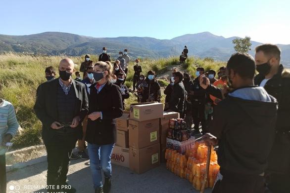 Πάτρα: Στον καταυλισμό των Ρομά στον Ριγανόκαμπο ο Χ. Μπονάνος