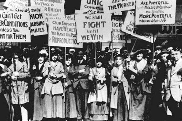 Σαν σήμερα 8 Μαρτίου γιορτάζεται για πρώτη φορά στις ΗΠΑ η Παγκόσμια Ημέρα της Γυναίκας
