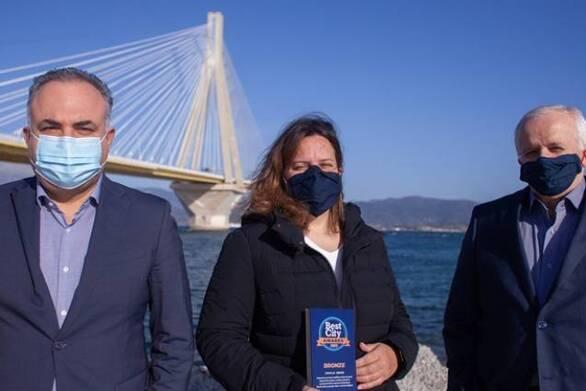 Βραβείο για τη Γέφυρα Ρίου - Αντιρρίου «Χαρίλαος Τρικούπης» στα «Best City Awards» (video)