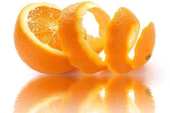 Φωτίστε το δέρμα σας με φλούδες πορτοκαλιού