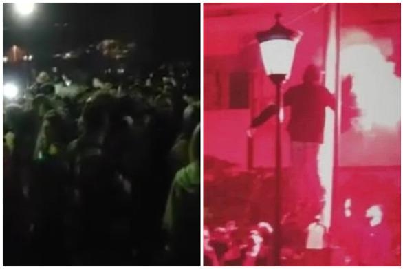 Πάτρα: Νεαροί έστησαν... υπαίθριο κορωνοπάρτι στην περιοχή του Κάστρου