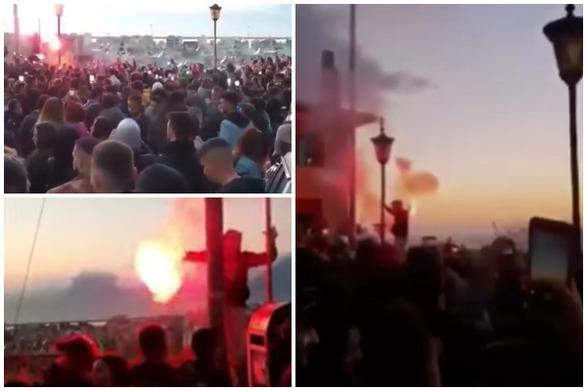 """Το Καρναβάλι του 21 """"έκλεισε"""" με ένα μεγάλο υπαίθριο πάρτι στη """"βαθιά"""" κόκκινη Πάτρα (pics+video)"""