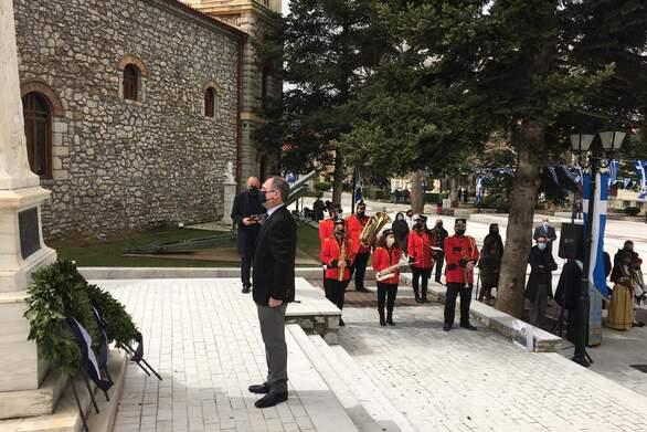 """Ανδρέας Κατσανιώτης: """"Όλοι οι Έλληνες αντιλαμβάνονται ότι τα Καλάβρυτα συμπυκνώνουν όλες τις αξίες του Γένους"""""""