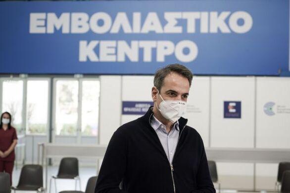 Μητσοτάκης - Κορωνοϊός: Μέχρι αρχές Μαΐου θα έχουν έχουν εμβολιαστεί όλοι άνω των 60 ετών