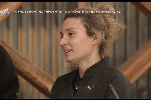 Φάρμα: Αποχώρησε η Μαρία Σπυροπούλου (video)