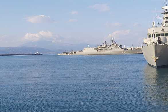Πάτρα: 11 πολεμικά πλοία του ΝΑΤΟ στο παλαιό λιμάνι