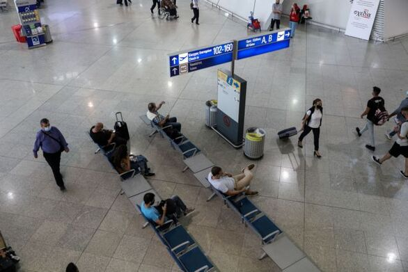 Αρνητικό πρόσημο και τον Μάρτιο στην επιβατική κίνηση στο «Ελ. Βενιζέλος»