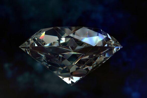 Εξωτικά «εξαγωνικά διαμάντια» κάνουν σκόνη τα φυσικά